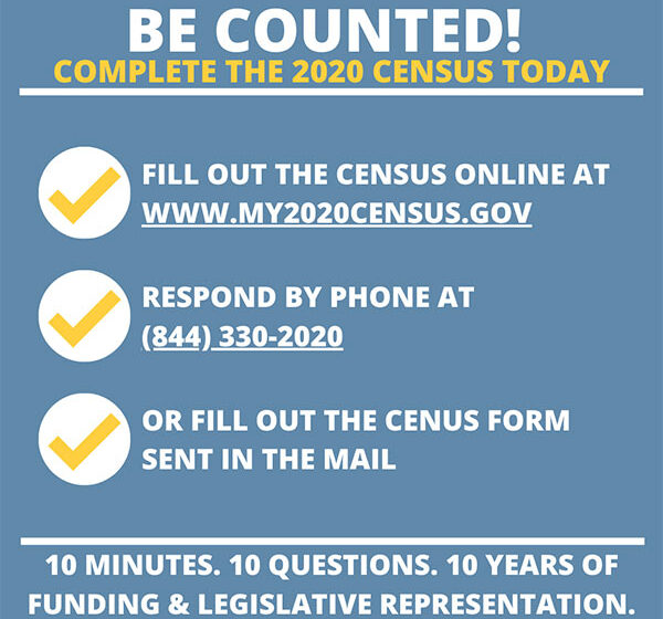 Are You In? Have You Been Counted? Census2020 Deadline is September 30