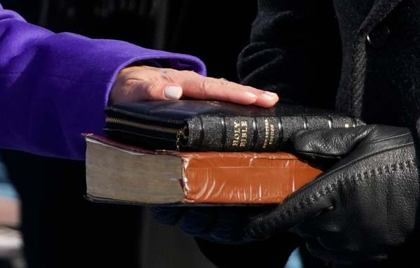 Vice President Harris Used 2 Bibles