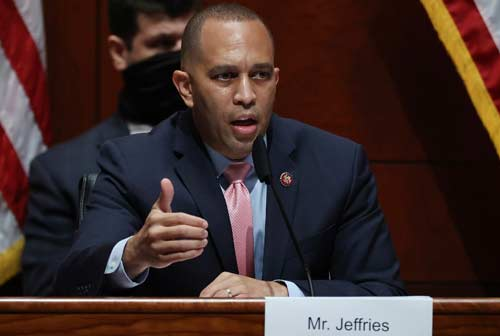 Hakeem Jeffries and Family Threatened; California man arrested