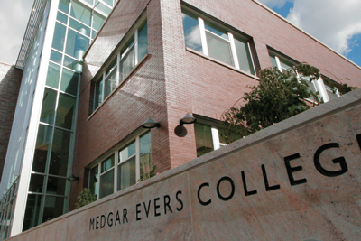 A NEW BEGINNING FOR MEDGAR EVERS COLLEGE