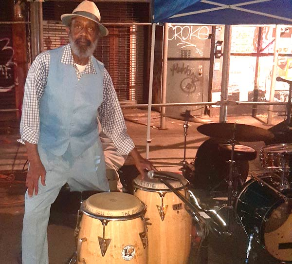 Jazz at 966 Comes Outdoors in Jitu Weusi Plaza