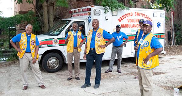 Brooklyn Lions Purchase Ambulance for Bedford Stuyvesant Volunteer Ambulance Corps
