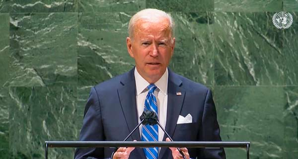 President Biden at UN Calls for Unity on Fighting Climate Change